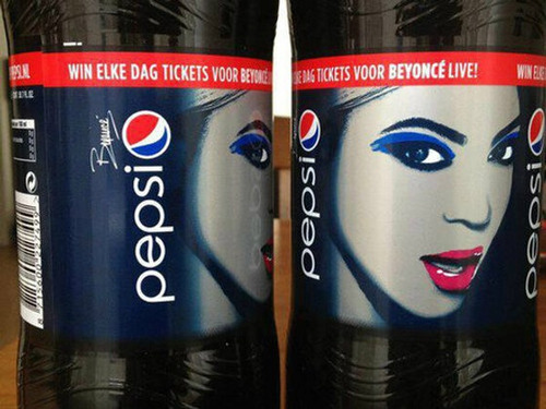 First look: Beyonce's Pepsi Bottles