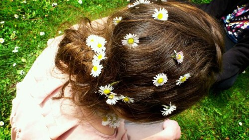 It's spring. There are daisies. Jehan. The end.