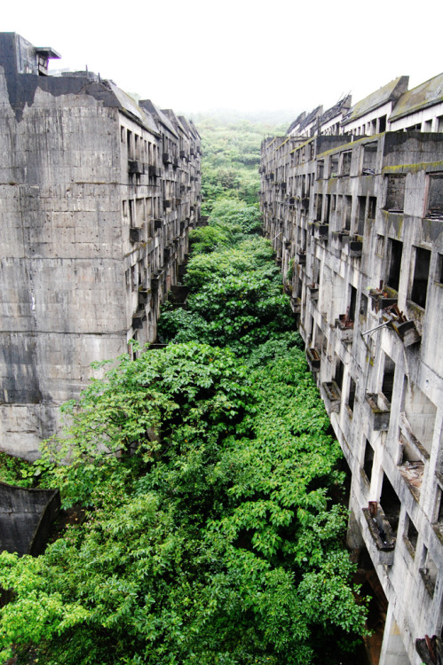 nikolawashere:  Keelung, Abandoned city in Taiwan swallowed by nature.