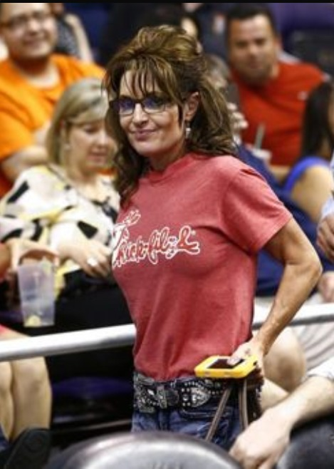 You just know at some point Sarah Palin's husband has licked Chick-fil-A sauce out of her pussy.