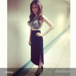 The Georgeous @celestinegonzaga #TheBuzz