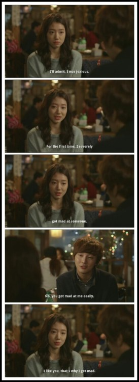 "sheenataway:  ""I like you, that's why I get mad."" - Go Dok Mi (THIS. Me. Exactly.)"