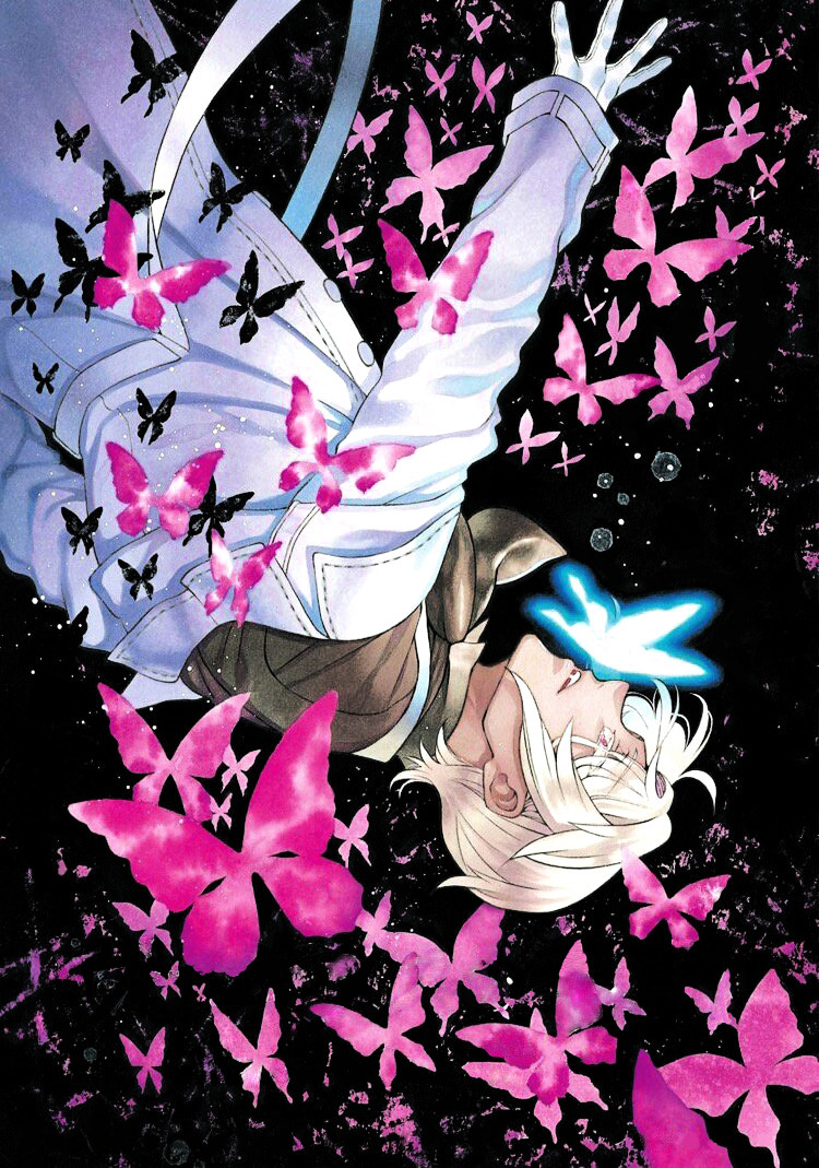 #shitpost#vnc #vanitas no carte  #I have no idea who edited the original i just added the blue butterfly... #oops #take it before i take it back