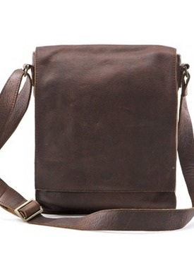Leather Shoulder Bag with Adjustable Strap by La Redoute http://goo.gl/tIGNn