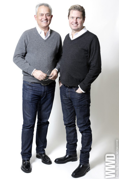 womensweardaily:  Mark Badgley and James Mischka Tie the Knot After 28 years as a couple, Mark Badgley and James Mischka made their union official by tying the knot Friday at New York City Hall. While the designers have made their mark with red-carpet gowns for VIPs like Sharon Stone, Oprah Winfrey, Teri Hatcher and Melissa Etheridge, they were considerably more understated about celebrating their own big day. For More