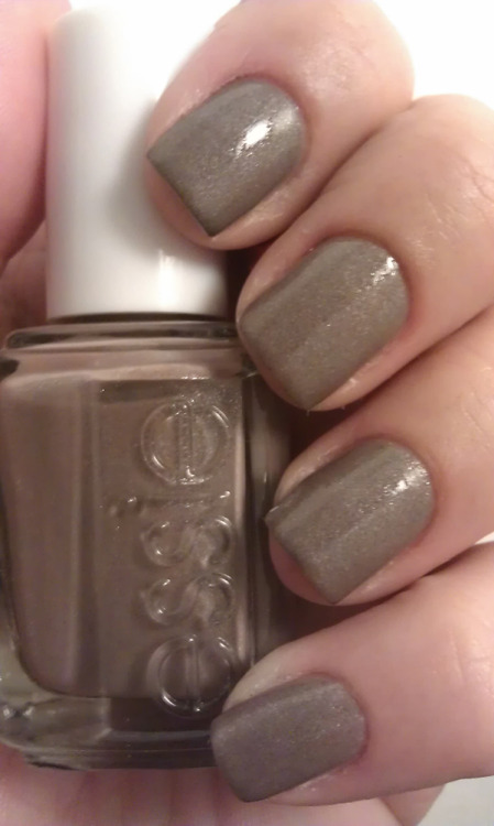 lacquerfan:  Essie Mochachino. What a beauty. I love this color. It's so subtle and it also has a very delicate shimmer in it. It's perfect. Also the application was very smooth and opaque in 2 coats. This will be definitely one to wear often :-)