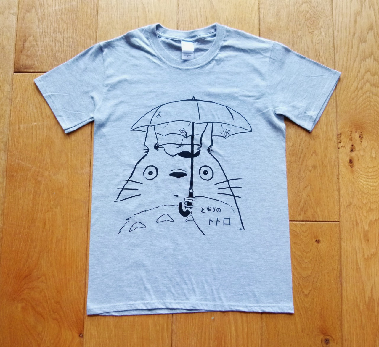 My Neighbour Totoro T-shirts are now ready to purchase on eBay!  First 10 available, more to come soon. :3 Click here to check them out!