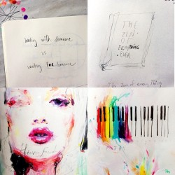 charmaineolivia:  sketchbook / observations