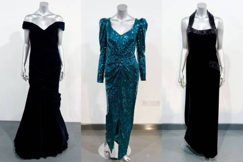 Princess Diana's old dresses will cost you a mil.