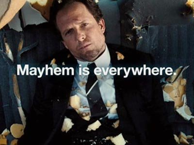 "The Spot: Mayhem Forever http://www.adweek.com/news/advertising-branding/spot-mayhem-forever-146681 Allstate's advertising campaign is definitely one of a kind.  The first time i watched a Mayhem commercial, I laughed so hard my stomach hurt!  The commercials show serious life situations, but tones the seriousness down with dry humor.  Allstate's message to all the drivers out in the world, ""An Allstate agent can protect you from Mayhem, Are you in Good Hands?""  Allstate competes with two other great car insurance companies.  Progressive's campaign is the infamous ""Flo"", and StateFarm has the ""good neighbor service"" campaign.  I believe the one thing Allstate and Progressive have over StateFarm is the iconic spokes person.  But then again, as easy as it is to easily recognize a person, StateFarm has a great slogan/""jingle"" (just like Nike's ""Just do it"").  Allstate tops it off with having both an icon and a slogan.  I believe their Mayhem campaign is a great way to grasp customer's attention."