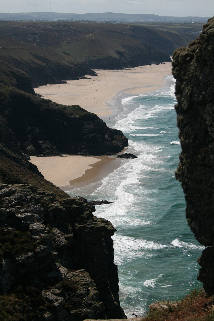 nosens:  Chapel Porth Beach,St Agnes, South West Coastal Path (by Ben and Carole)