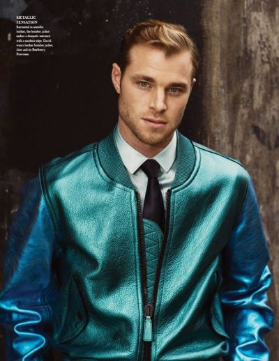 mensfashionworld:  David Frampton by Cameron McNee for Fashionisto