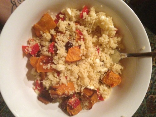 Cous cous salad for dinner