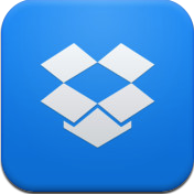 "I love the new Dropbox icon. Something about the color (and maybe the simplicity), just makes it pop off the screen. They also use the new ""dropbox blue"" for the top bars in the app itself. Is it possible to have a crush on a color? I think I do."