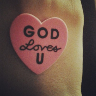 How he loves us<3!