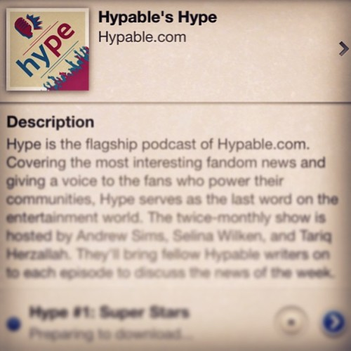 New show: Hype! This and Hype After Dark are my long-term podcasting future. Check it out!