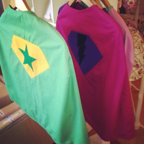 Capes!! (at The Little Red Barn)