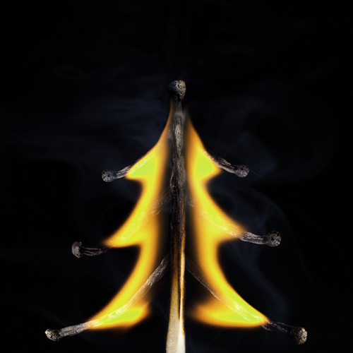 Christmas Tree is a beautiful piece of burning matchstick photo manipulation created by Russian artist and photographer Stanislav Aristov. (previously featured here) Visit Stanislav's website to view the complete Matches series. [via Laughing Squid]