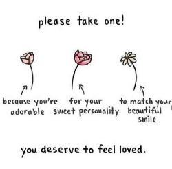 malickasthoughts:  Take one💕