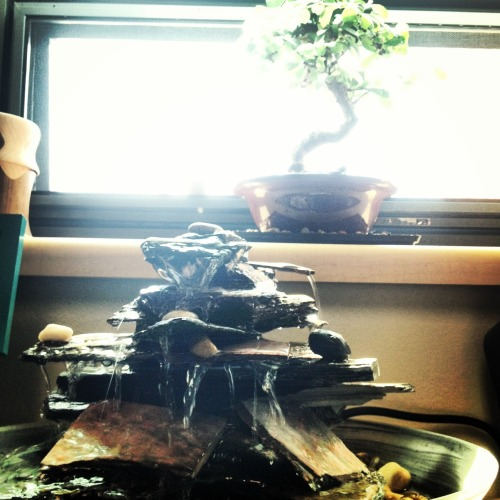 My bf made me a fountain for our two year anniversary <3 I love him