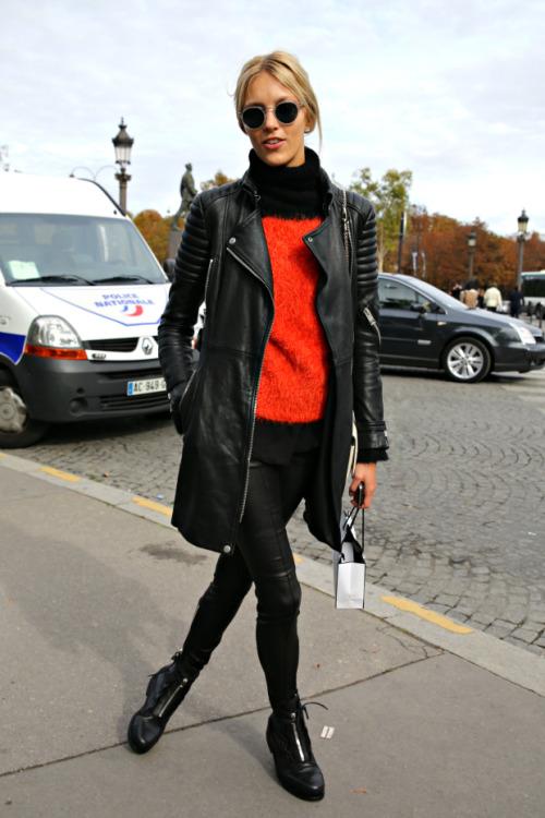 Models Street Style
