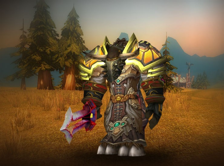 Flingoh, Destroyer's End Male Tauren Paladin US Anub'arak [Faceplate of the Impenetrable] [Vengeful Gladiator's Scaled Shoulders] [Malevolent Gladiator's Cloak of Prowess] [Malevolent Gladiator's Scaled Chestpiece] [Bubble-Breaker Bracers] [White Tiger Gauntlets] [Crafted Dreadful Gladiator's Clasp of Meditation] [Pyretic Legguards] [Jasper Clawfeet] [Gladiator's Greatsword]