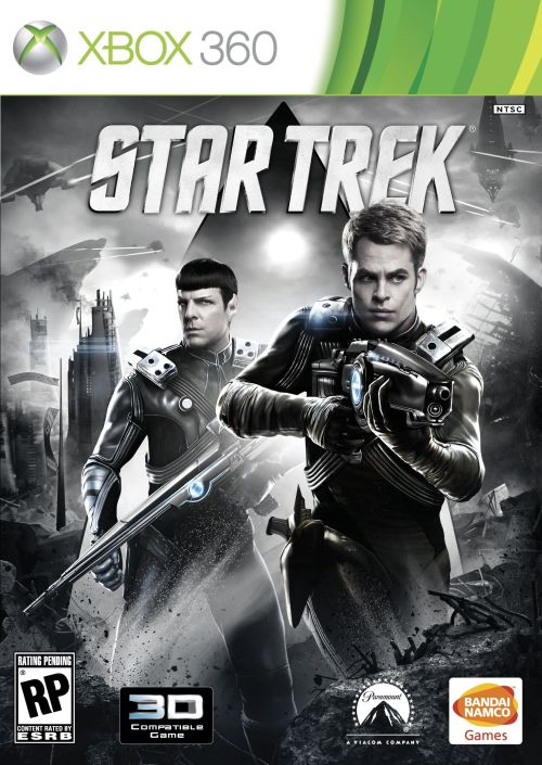 Star Trek Game X-Box Cover