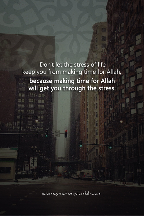 17thwallfloweravenue:  islamsymphony:  So, make time for Allah ;)   Yes. Definitely. I couldn't agree more.
