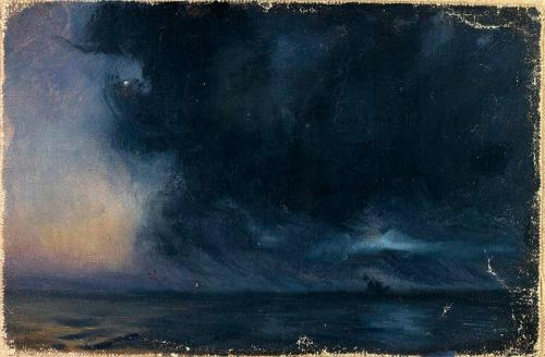 denisforkas:  Frank Wilbert Stokes - The Phantom Ship, Atlantic Ocean. 1903