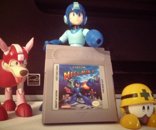 Finally got the last Gameboy Mega Man game I needed.