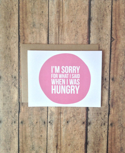 visualgraphic:  When I was hungry