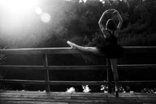 "aviddisk:  ""a ballerina must always stretch"" by nicoleacasia"