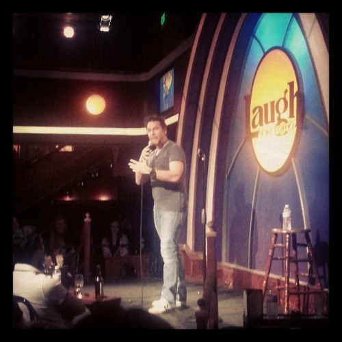 Dane Cook showed up for the Bare Bones comedy show. And then Dave Chappelle.  #danecook #comedy #laughfactory #davechappelle