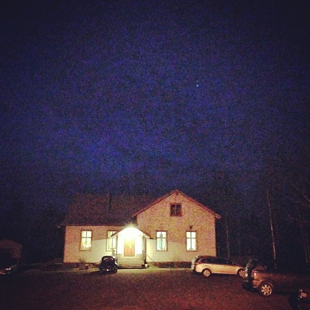 House. #old #house #night #sky http://instagram.com/p/Y59Bzipl4W/