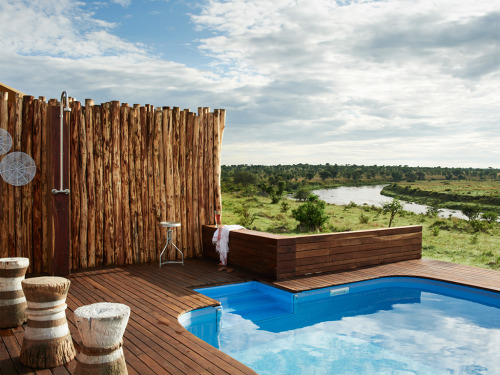 The Most Indulgent New Hotels in the World | Singita Mara River Tented Camp