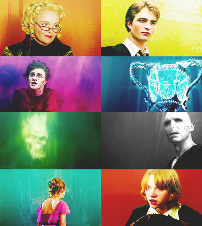 "The Magic Begins ↳ 2. Favourite Book / 3. Favourite Movie - Goblet of Fire ""It matters not what someone is born, but what they grow to be."""