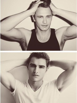 thegreeneyes:  Franco brothers. OMG, I can't even…
