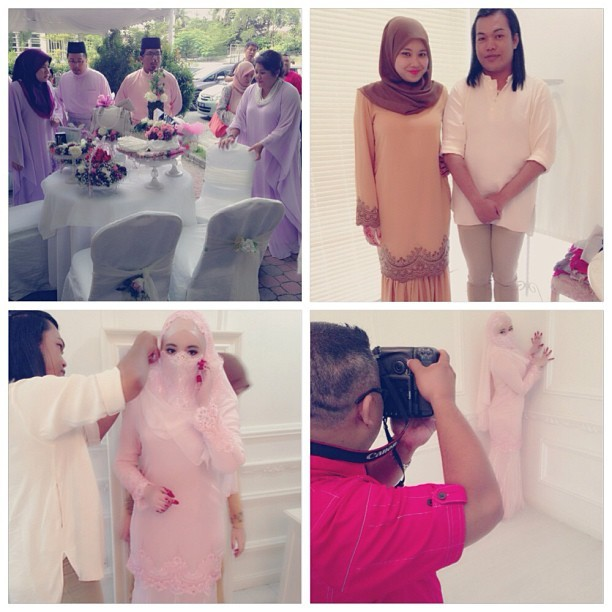 Solemnization. With the crews. #solemnization #akadnikah #alhamdulillah #bestmemoriesever #weddingcrews (at Duchess Place)