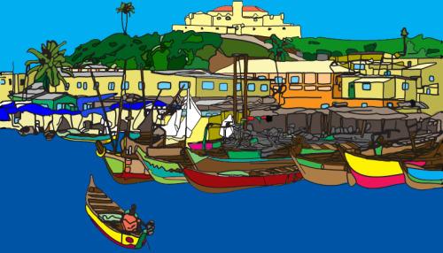 Ghana Illustration