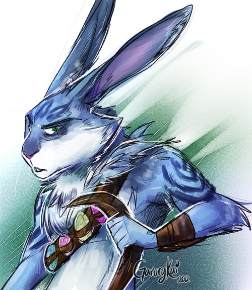 :Bunnymund: I just saw The Rise of the Guardians with my bf,and we both loved it. Fan Art for Bunnymund~ My fave character of the movie!