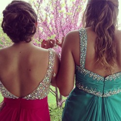 Prom wiff da bestie 💜🎀 #prom2013 @kennyeatselephants