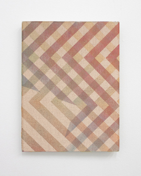 futuremountains:  hans peter sundquist untitled spray paint on fabric 2013