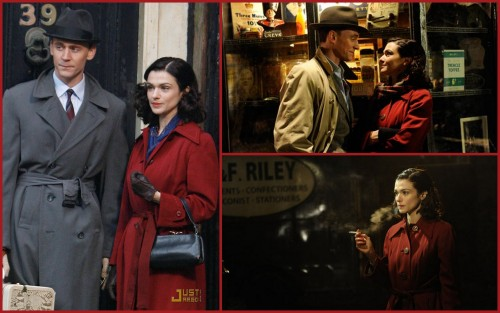 I fell in love with this red coat from The Deep Blue Sea.  I want it to be mine.