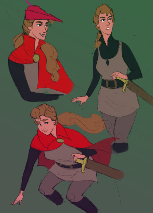 theoeuvre:  remember THIS disney prince genderswap screencap post…thing? princess philippa would be pretty awesome!  omg yes