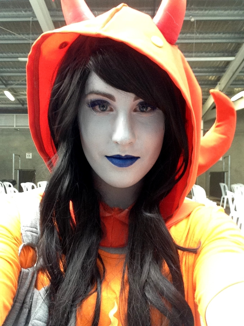 my vriska cosplay at armageddon this year uwu