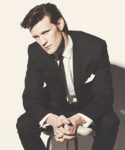 unwhosual:  favourite celebrity meme; matt smith   photoshoots, [3/4]unknown