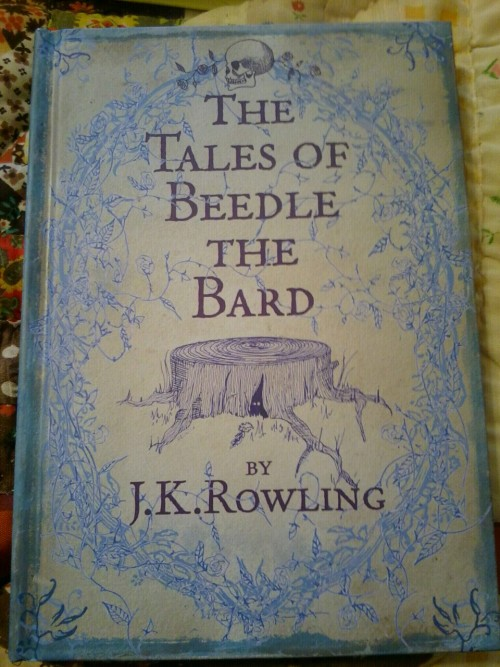 shawbear:  Book Haul: Bloomsbury edition of The Tales of Beedle the Bard by J.K. Rowling