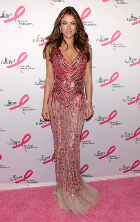 Elizabeth Hurley - 2013 Hot Pink Party in NYC 4/17/13