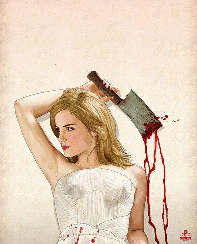 matthulksmash:  pizza-party:  Slaughterhouse Starlets by Keith P. Rein.