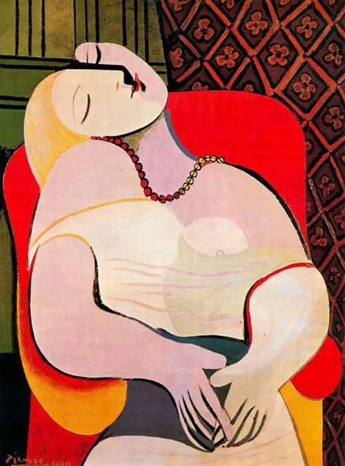 Pablo Picasso - The dream (1932)